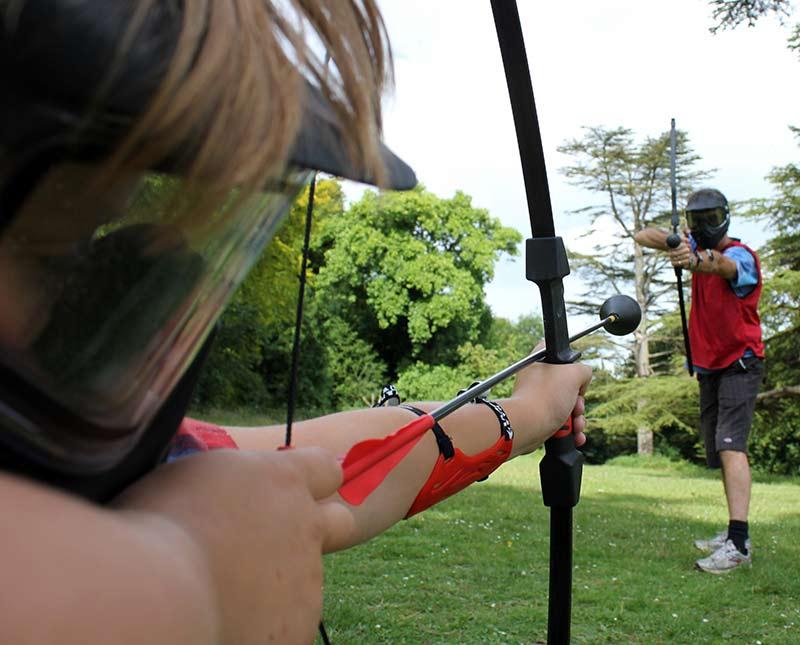 Games at Midlands Combat Archery